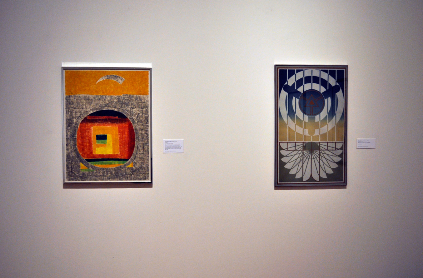 Photos in the gallery of the Taking Shape: Geometry in Art exhibition