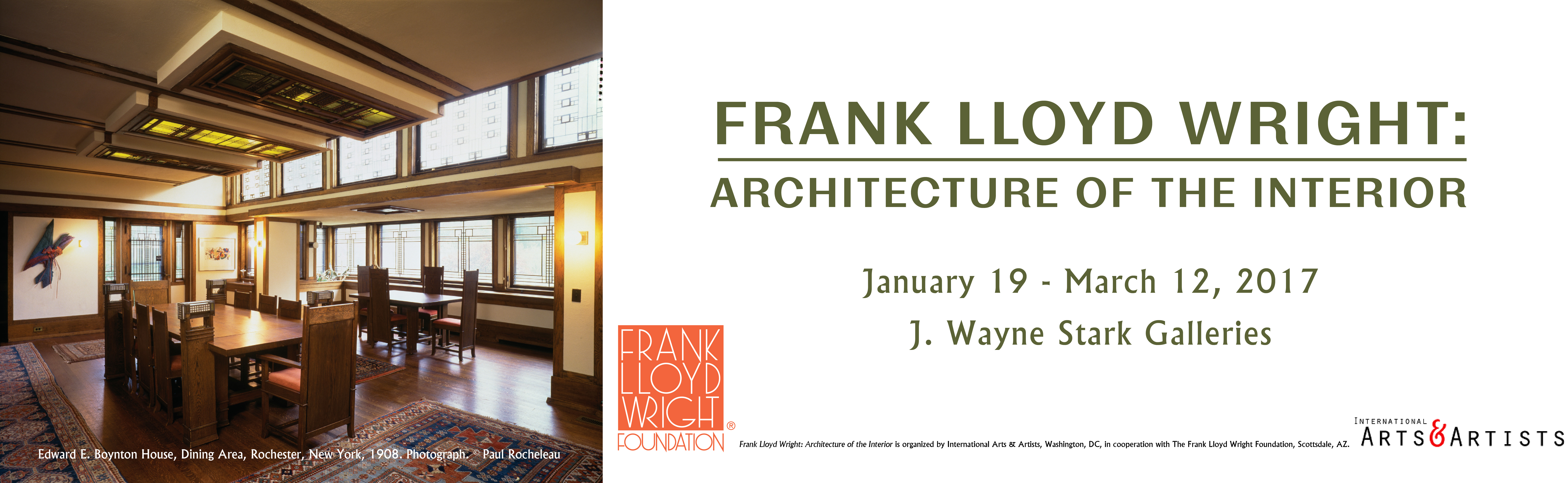 Frank Lloyd Wright Architecture Of The Interior UART