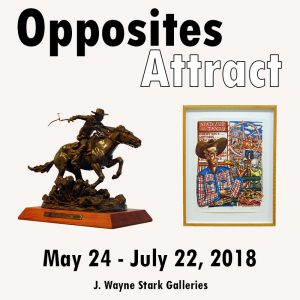 Opposites Attract CLOSES @ J. Wayne Stark Galleries | College Station | Texas | United States