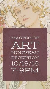 Master of Art Nouveau Opening Reception @ Forsyth Galleries | College Station | Texas | United States