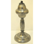Pewter oil lamp from circa 1820