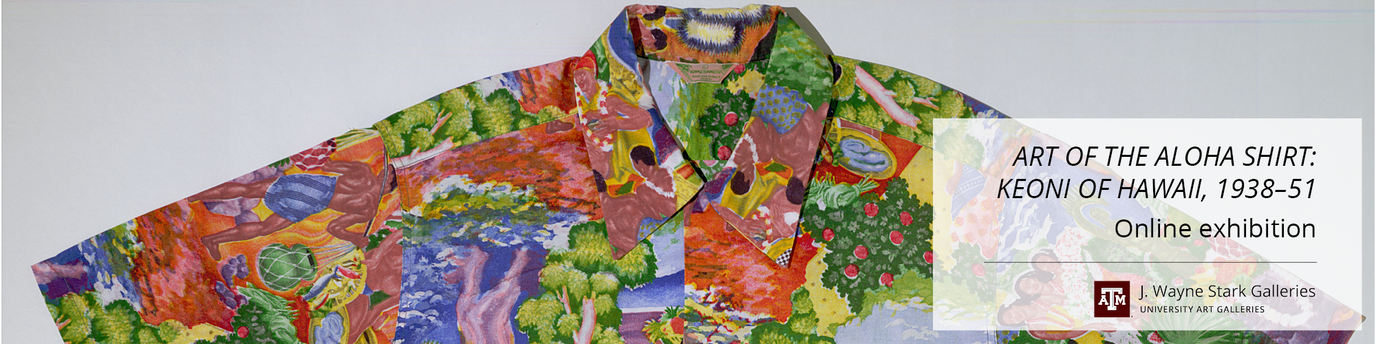 Bright colored Hawaiian shirt